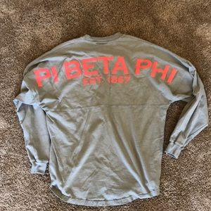 Pi beta phi spirit long sleeve